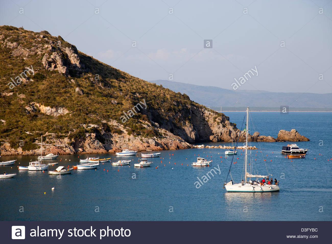 porto ercole,argentario peninsula,tuscany,italy - Stock Image