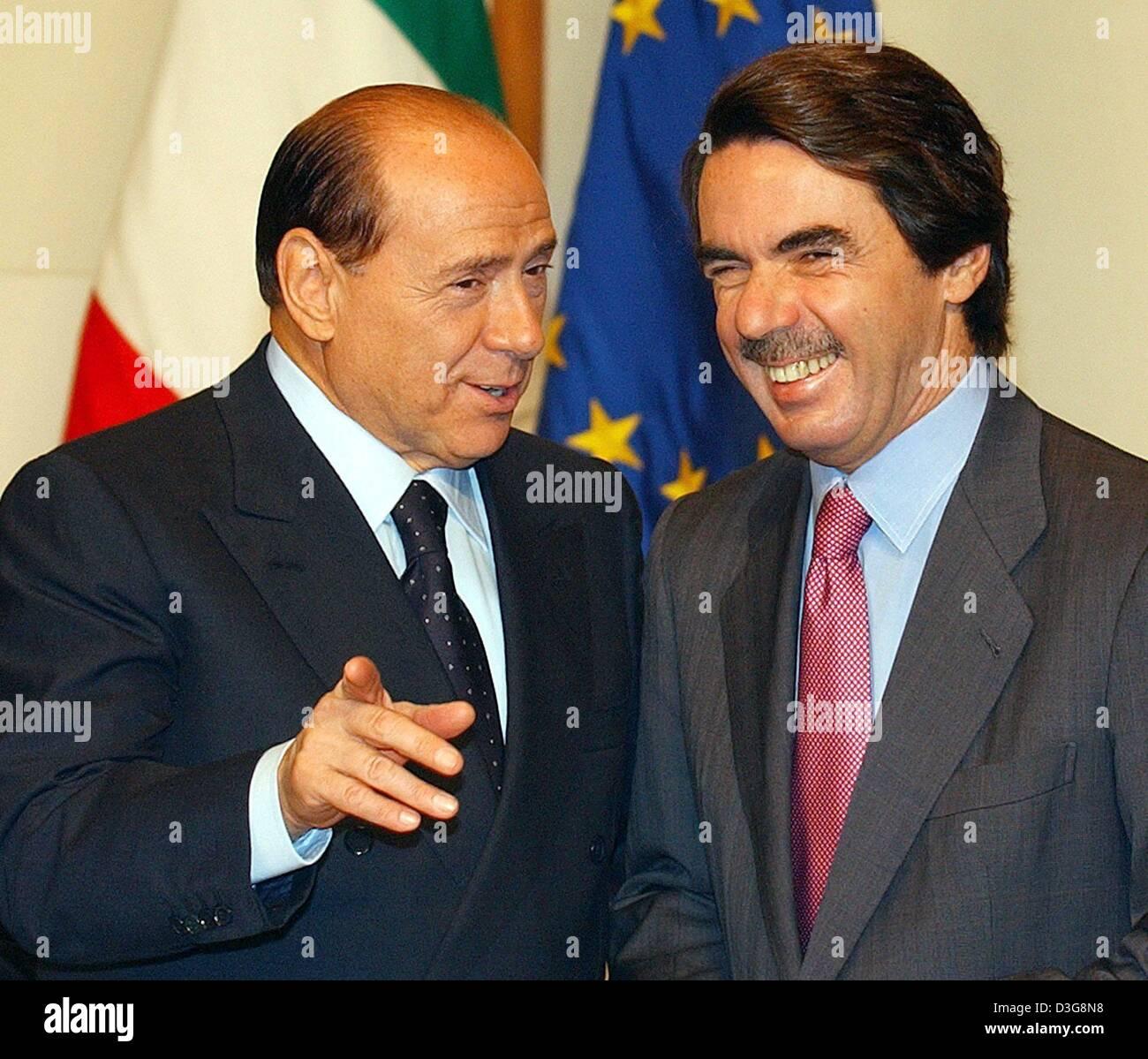 President Spain Jose Maria Aznar Stock S & President Spain Jose