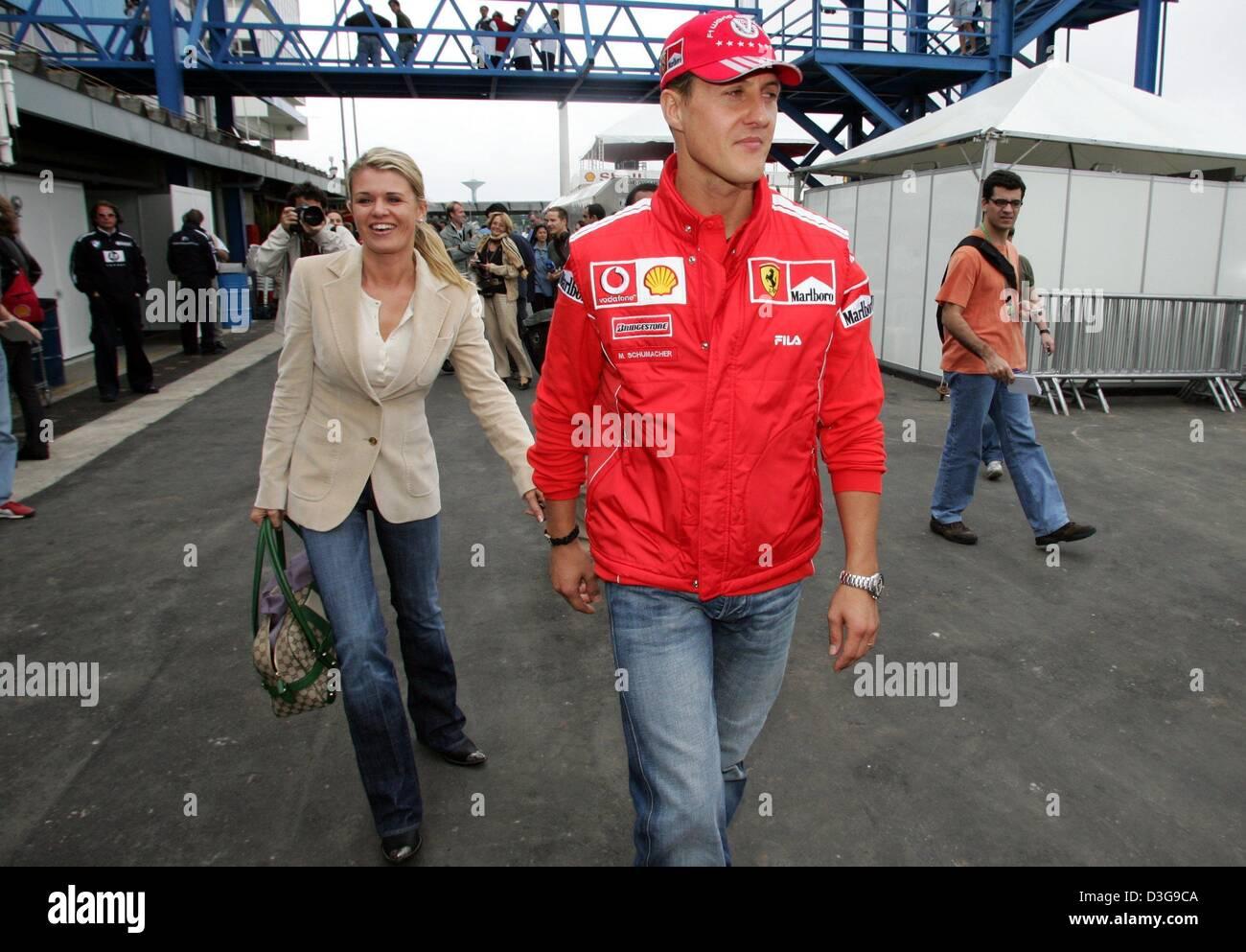 Michael Schumacher Corinna Stock Photos Michael Schumacher Corinna