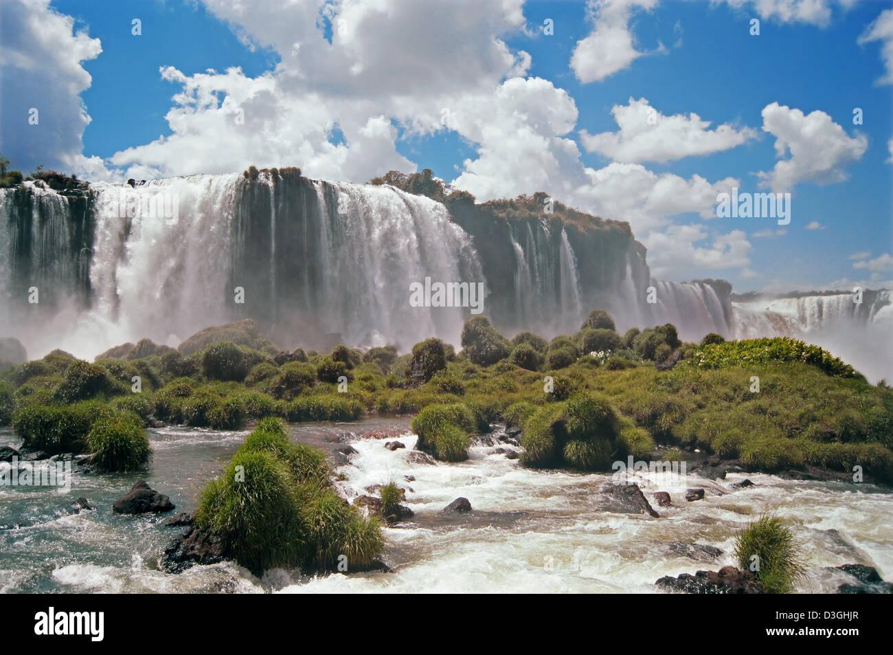 iguazu falls - Stock Image