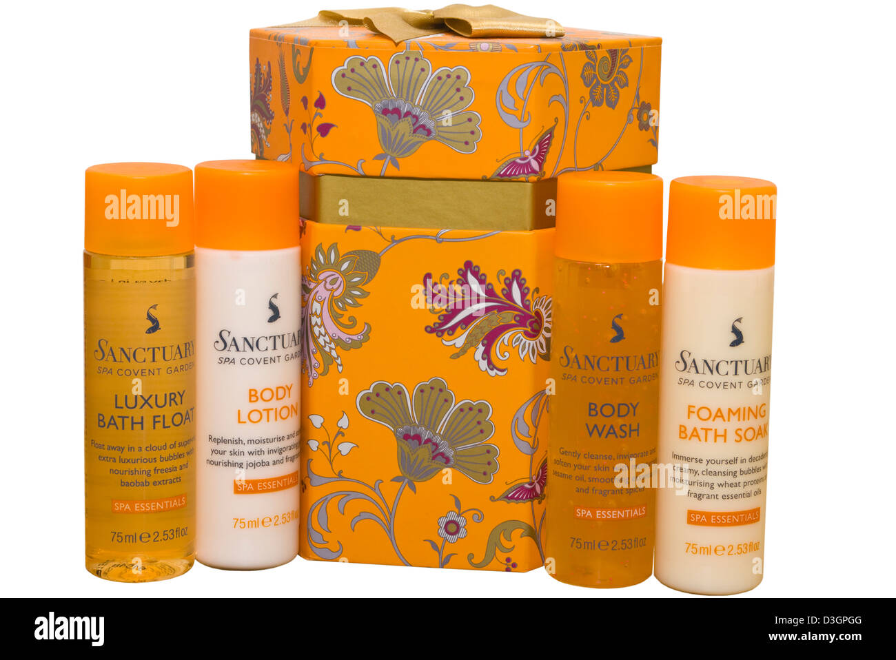 Cut Out Spa Stock Photos Images Alamy Dat Edwina Orange Slip On Sanctuary Bath Products Gift Set Image