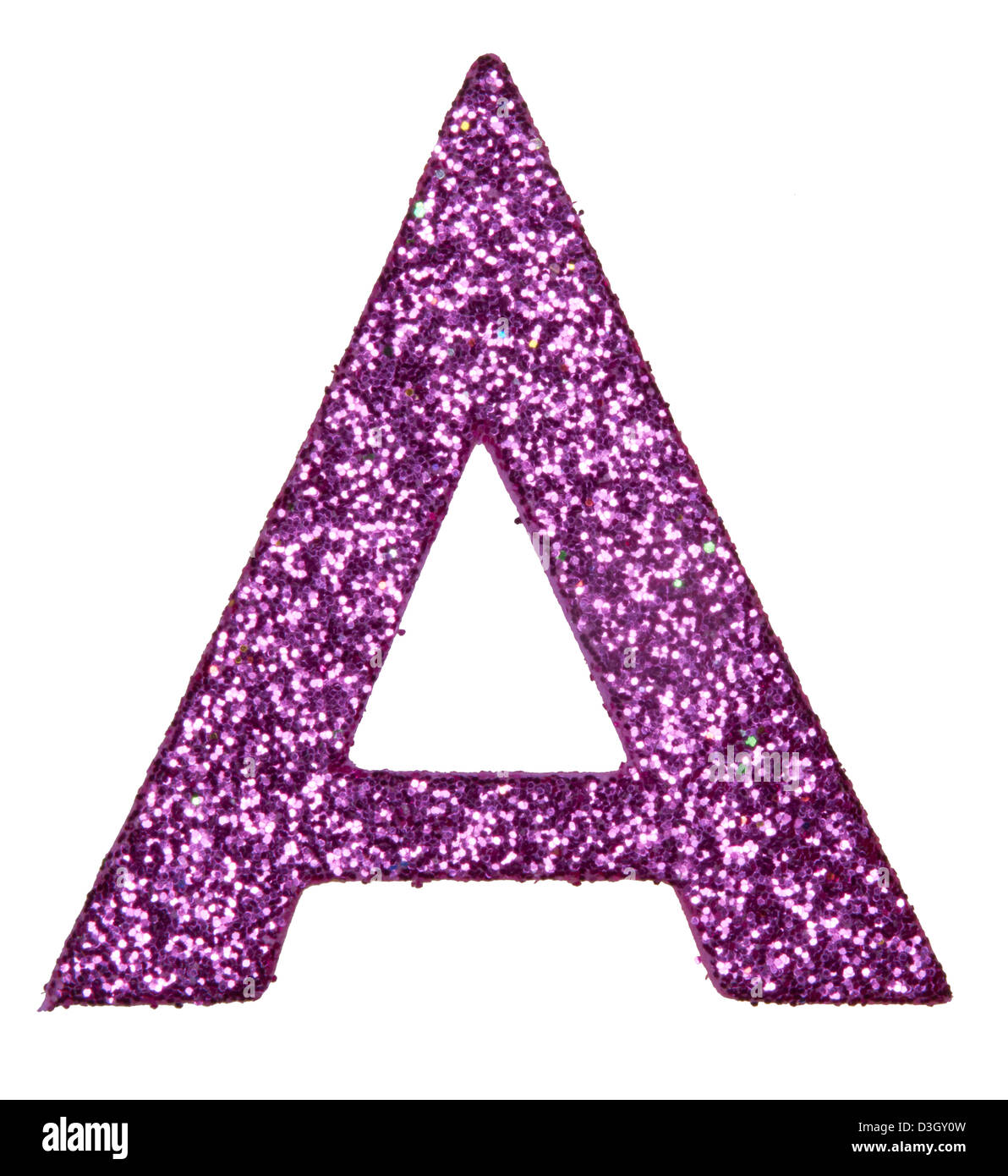 letter of the alphabet  A - Stock Image