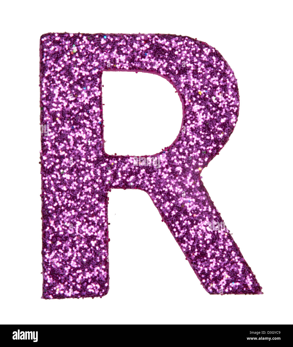 letter of the alphabet R - Stock Image