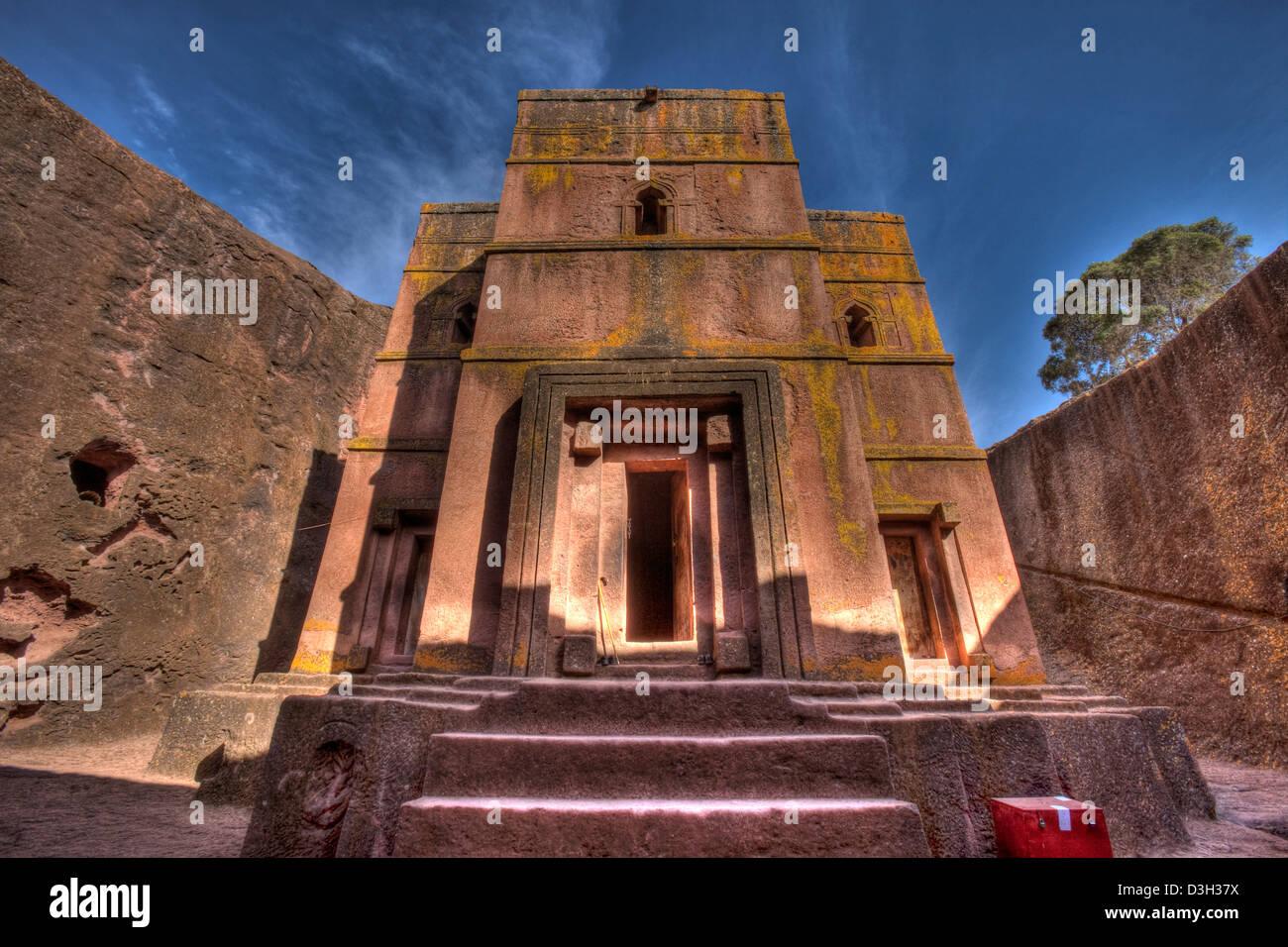 Bet Giyorgis Church, Lalibela, Ethiopia - Stock Image