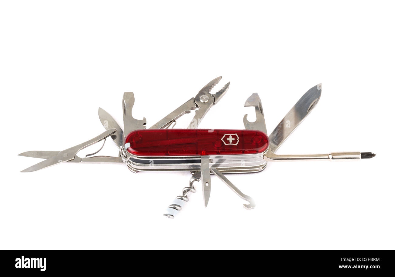 Victorinox Swiss Army Knife - Stock Image