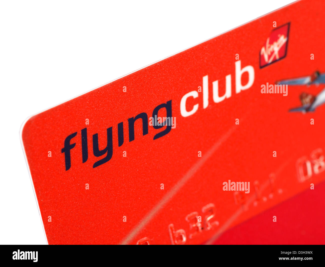 Virgin Atlantic Airways Flying Club frequent flyer card - Stock Image