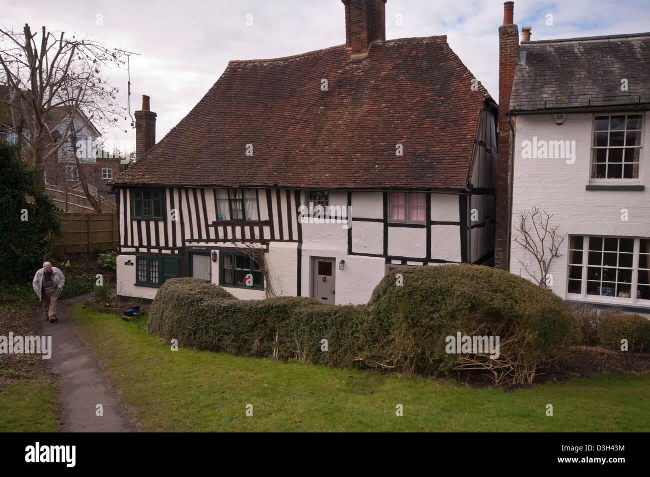 Period Tudor House - Stock Image