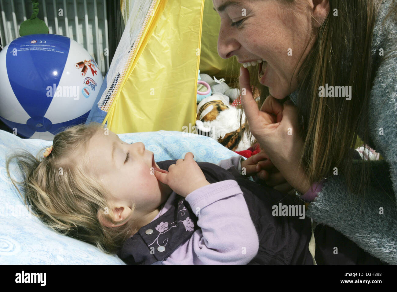 MOTHER & INFANT - Stock Image