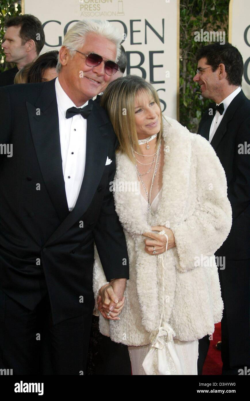 Dpa Us Hollywood Star Barbra Streisand And Her Husband Us