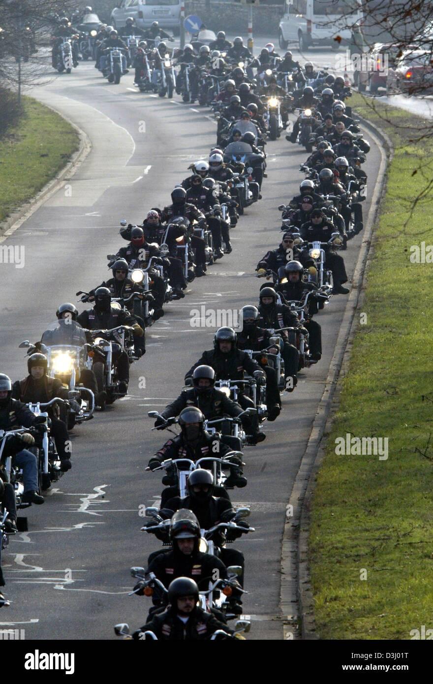 Miko hells angels karlsruhe Motorrad