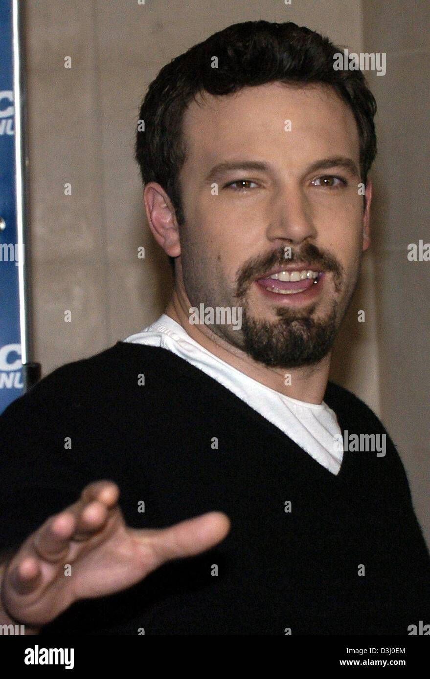 ben affleck uma thurman paycheck stock photos amp ben