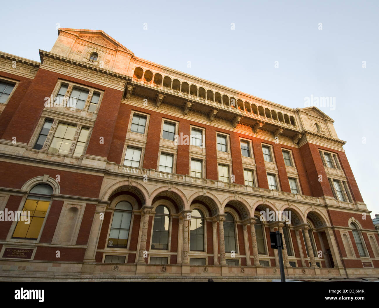 Victoria & Albert Museum - Henry Cole wing - Stock Image