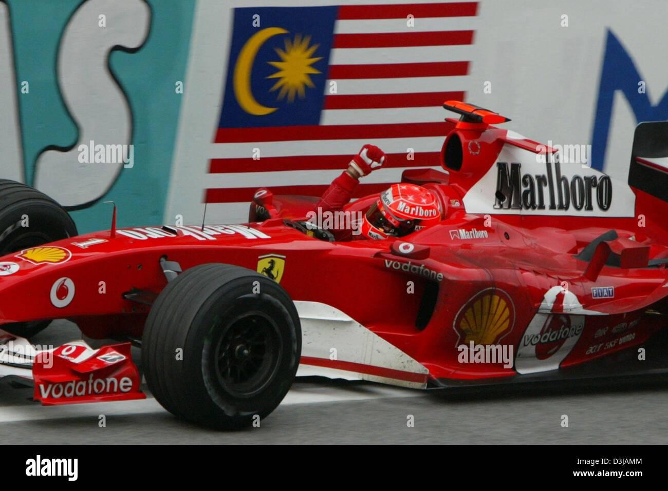 Dpa The German F1 World Champion Michael Schumacher Ferrari Stock Photo Alamy