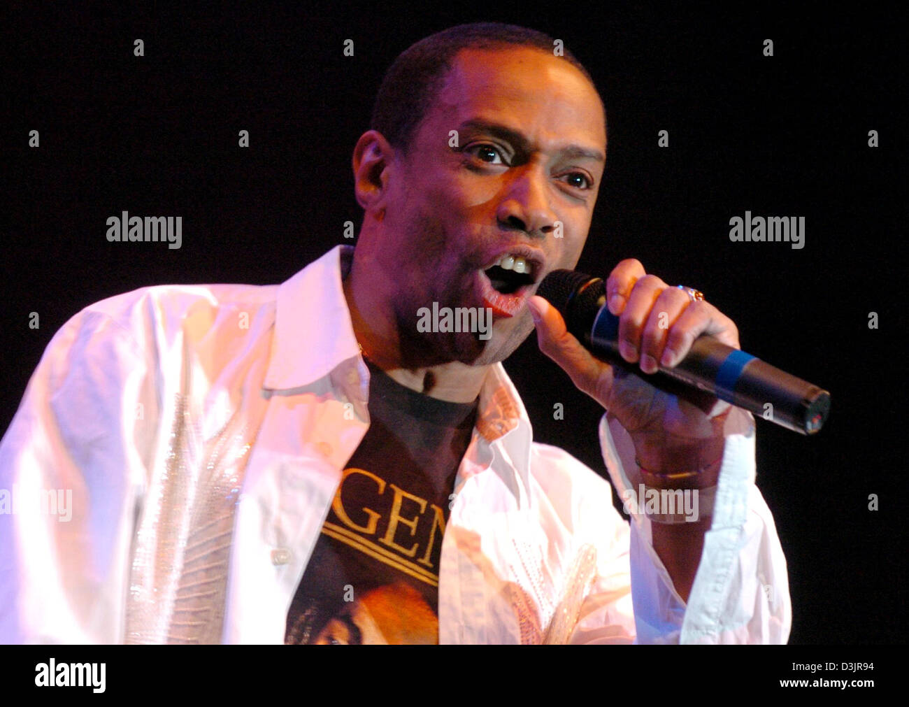 Dpa Lazy Delroy Rennalls Singer Of The German British Pop Band