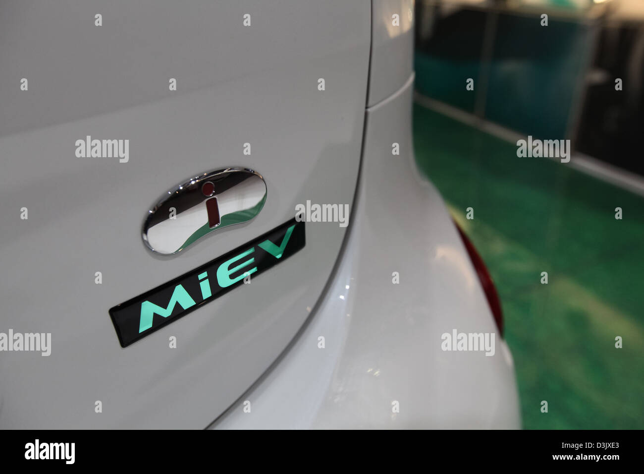 Mitsubishi i-MiEV hatchback electric car - Stock Image