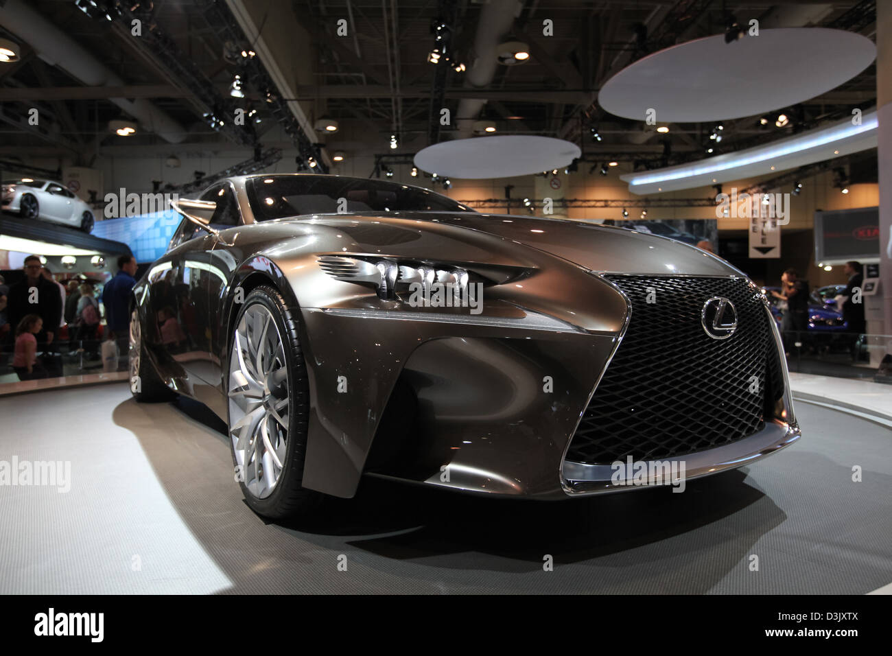 High Quality Lexus Lf Cc Concept Car Front Grill   Stock Image