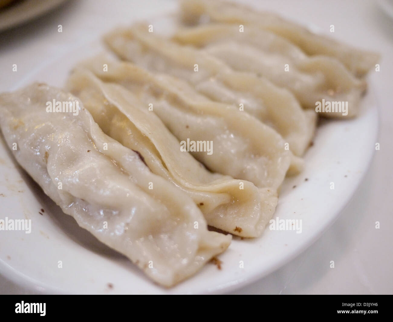 fried dumping northern chinese style - Stock Image