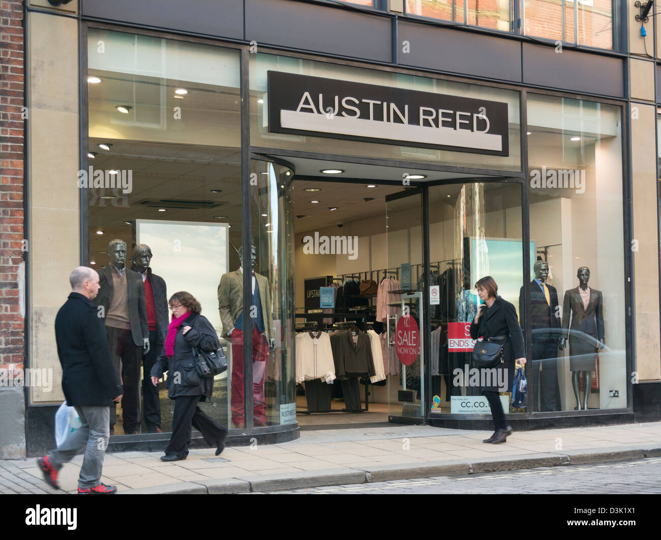 Front Of Austin Reed Store In York Uk Stock Photo Alamy