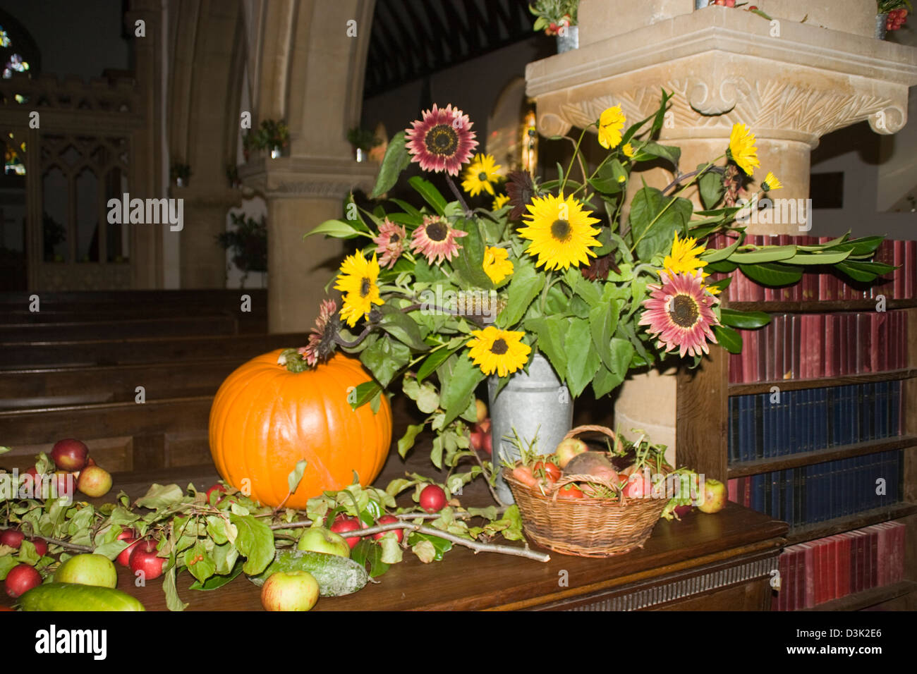 Harvest Festival Decoration St Church High Resolution Stock Photography And Images Alamy