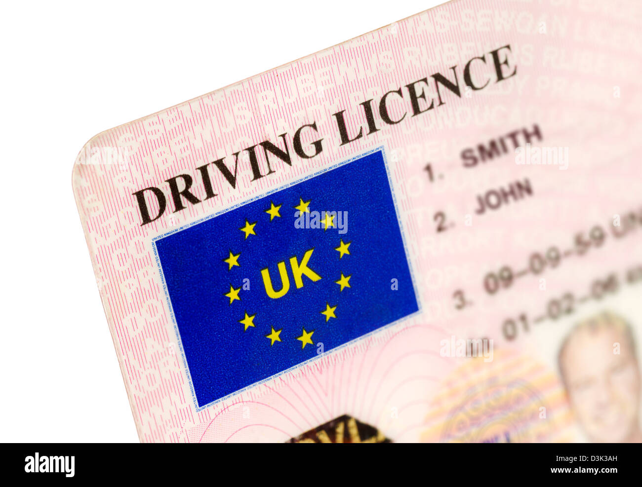 - Driving Alamy 53894809 Photo A Uk License Stock