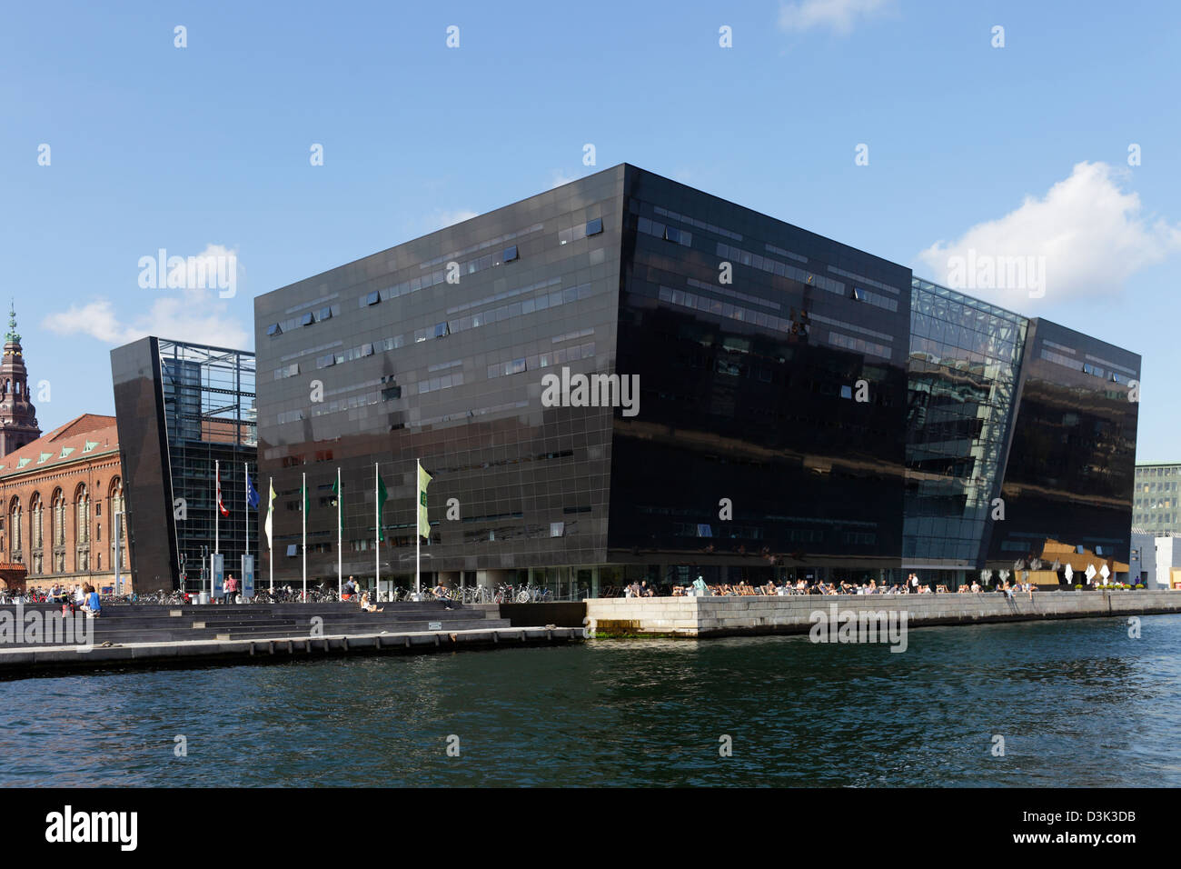 Copenhagen, Denmark, Den Sorte Diamant Stock Photo