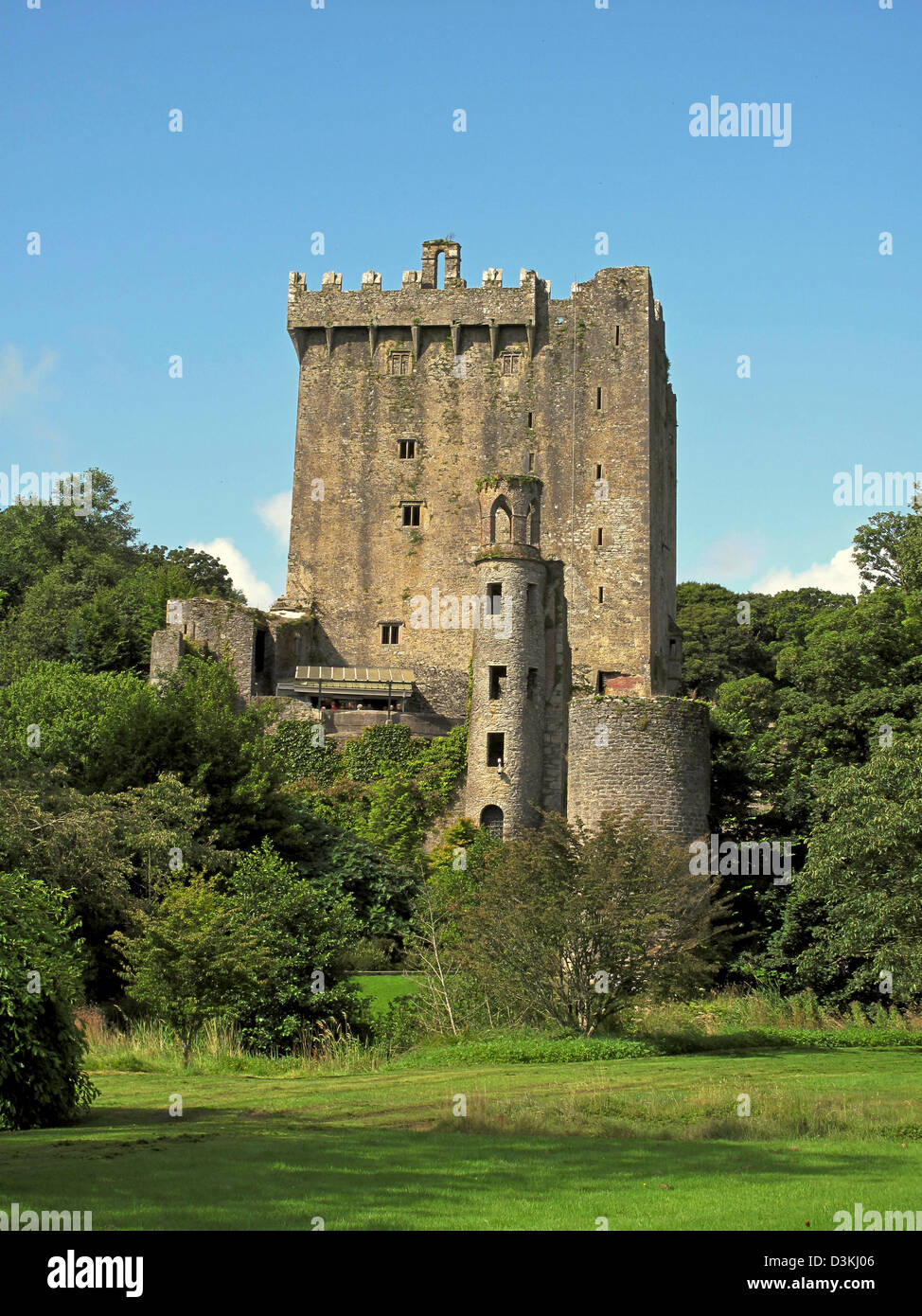 The Blarney Castle in County Cork, Eire - Stock Image