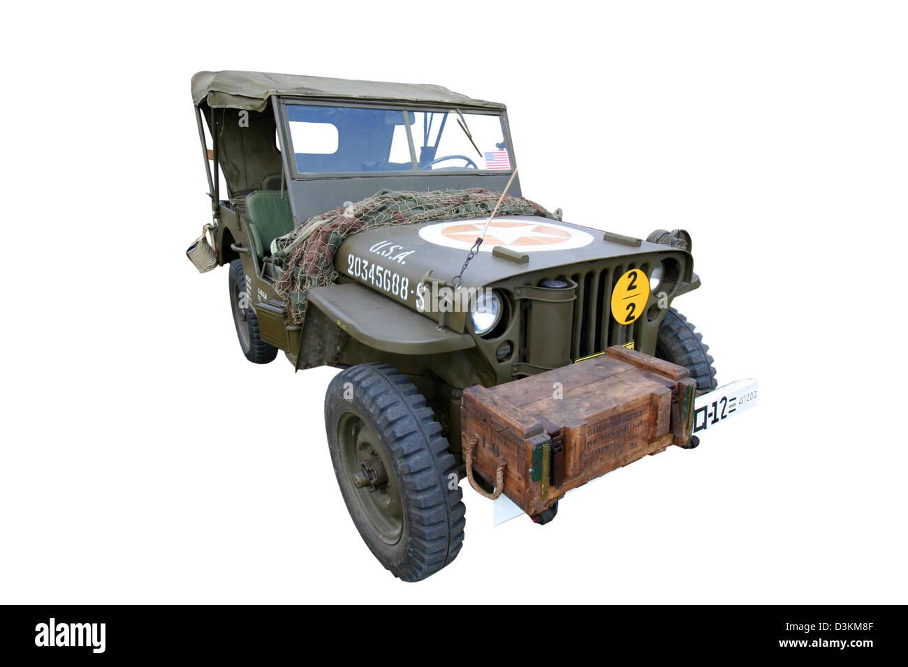 World War II US Army - Stock Image