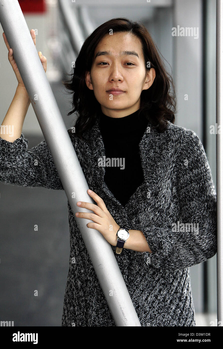 (dpa) -South Korean author Han Kang pictured at the Frankfurt Book Fair in Frankfurt, Germany, 19 October 2005. Photo: Frank May
