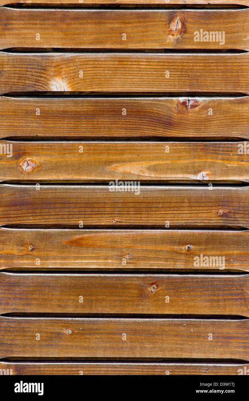 Old painted wood with aged texture - Stock Image