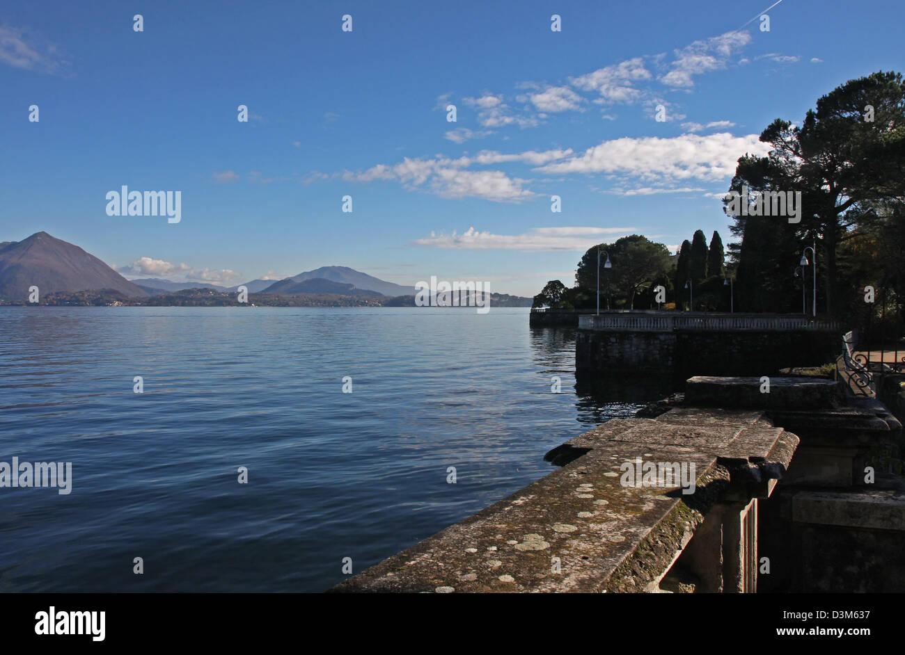 Italy, Lake Maggiore - Stock Image
