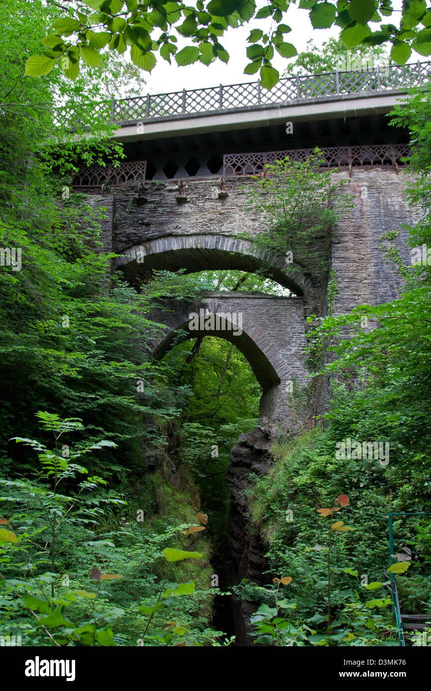 Devil's Bridge, Wales - Stock Image