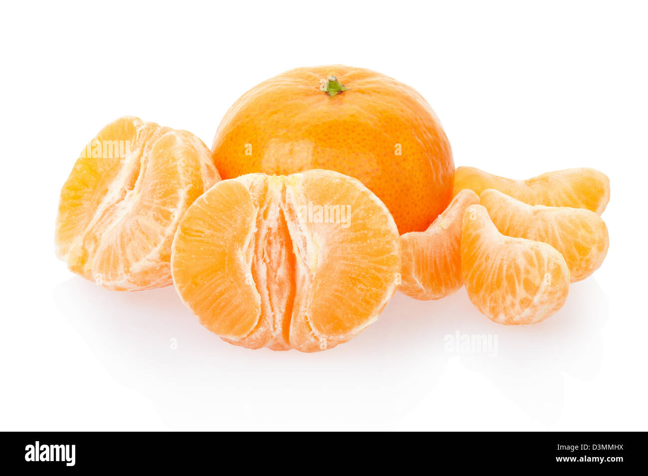 Tangerine, citrus fruit - Stock Image
