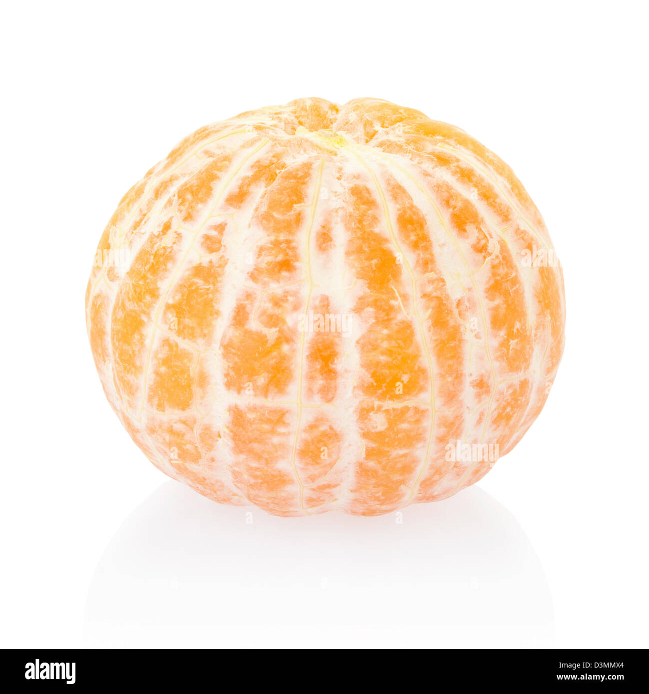 Tangerine without rind - Stock Image