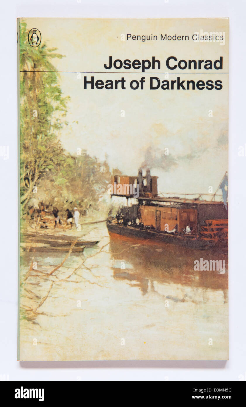 Heart Of Darkness by Joseph Conrad, first published in February 1899 - Stock Image