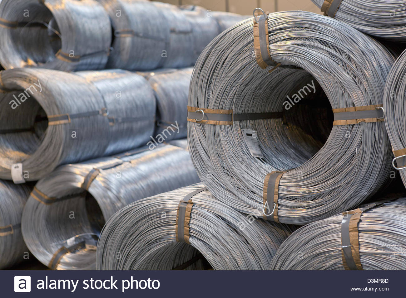 Wire Rolls Stock Photos & Wire Rolls Stock Images - Alamy