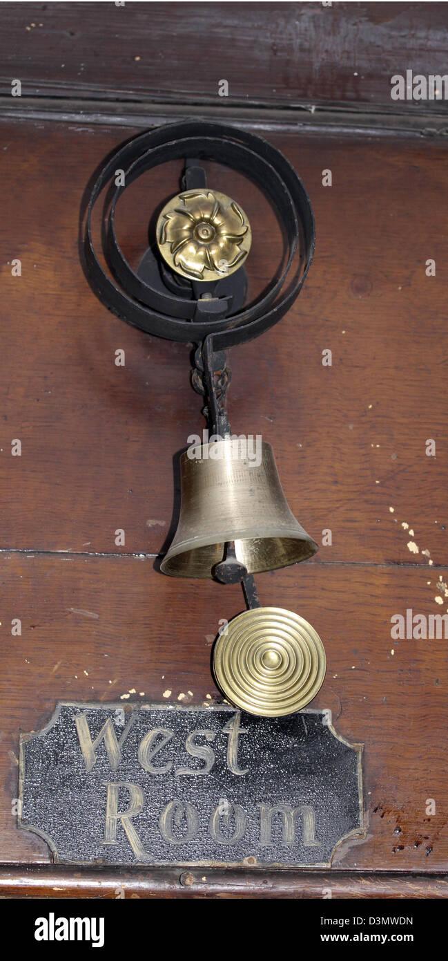 Servants bell - Stock Image