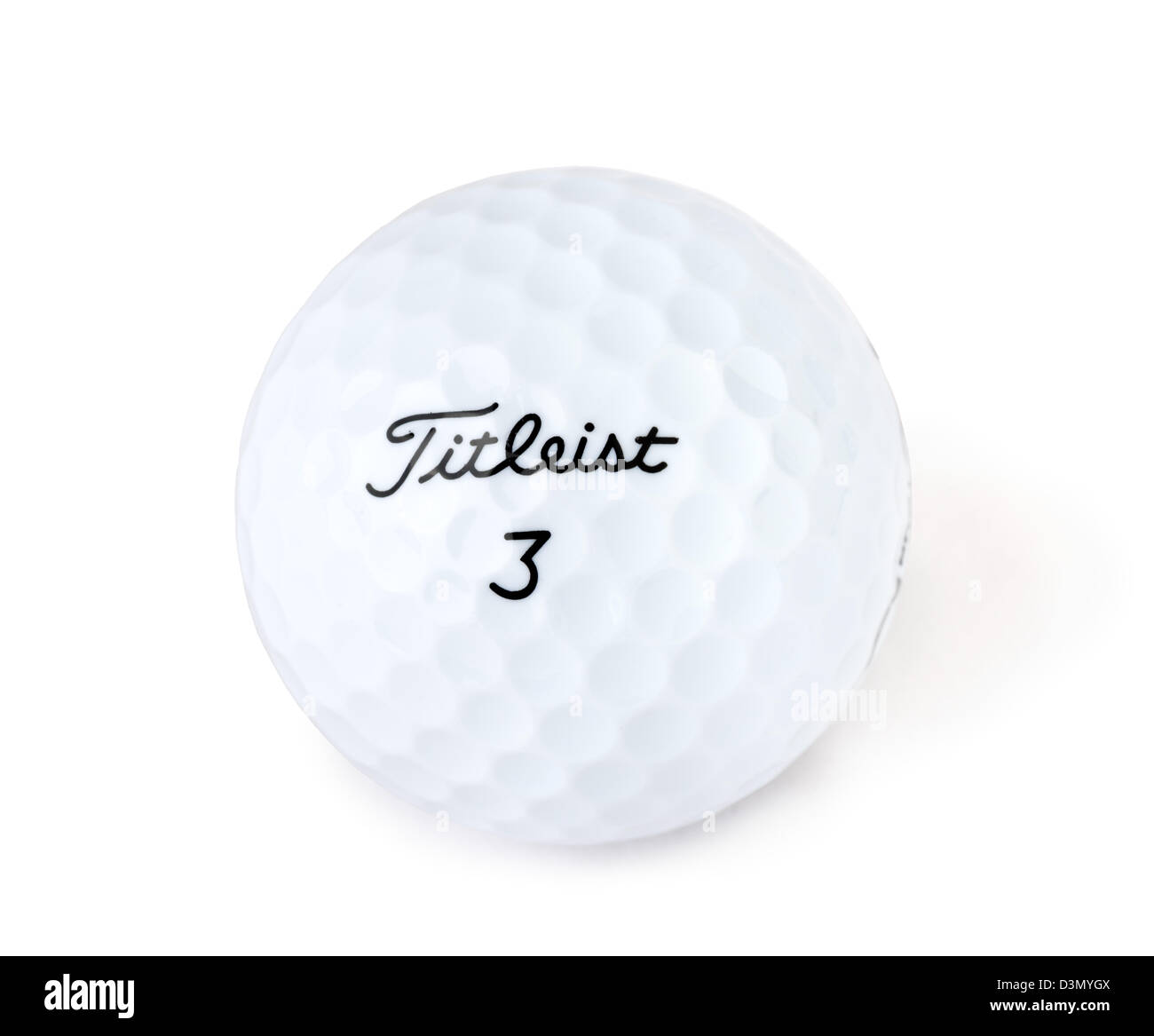 Titleist Golf Ball - Stock Image