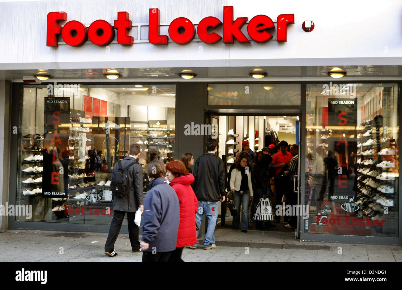 foot locker filialen deutschland