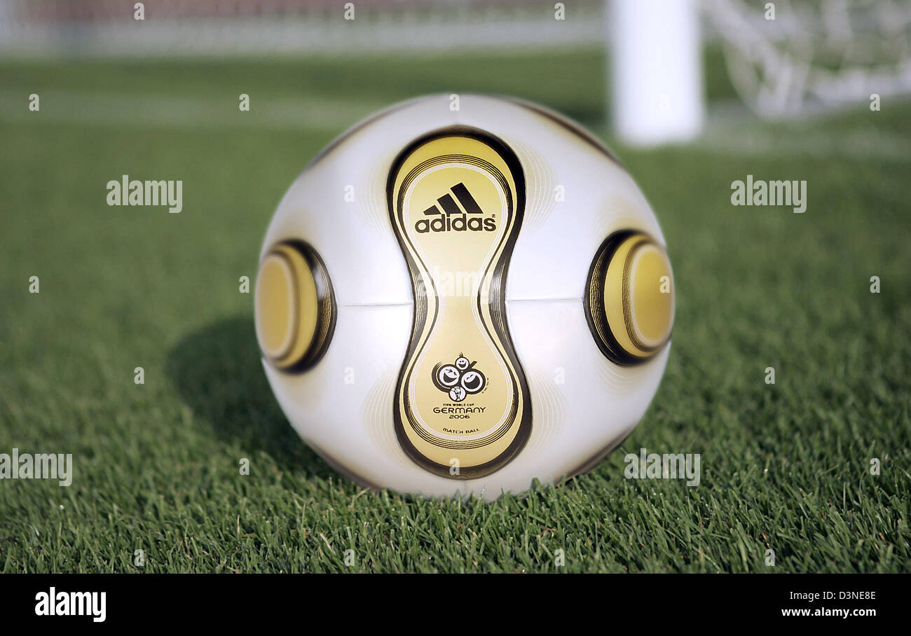 The picture shows the golden football developed especially