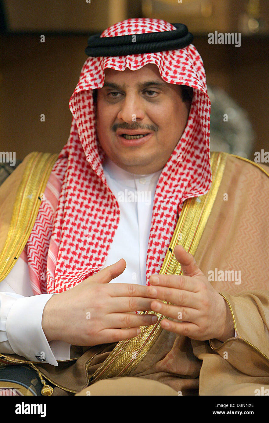 Saudi Prince Sultan Stock Photos & Saudi Prince Sultan Stock Images