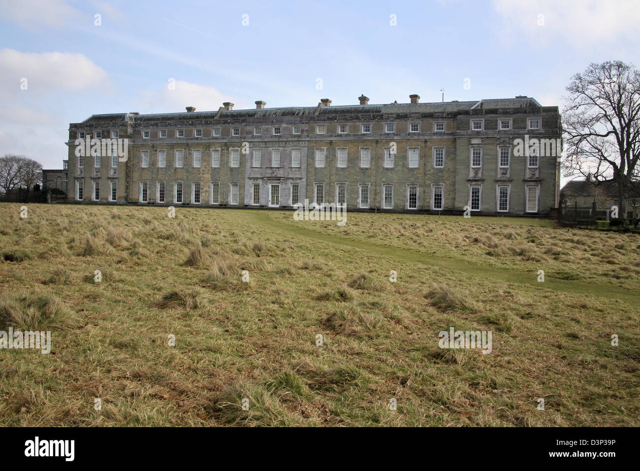 petworth house and gardens in west sussex - Stock Image