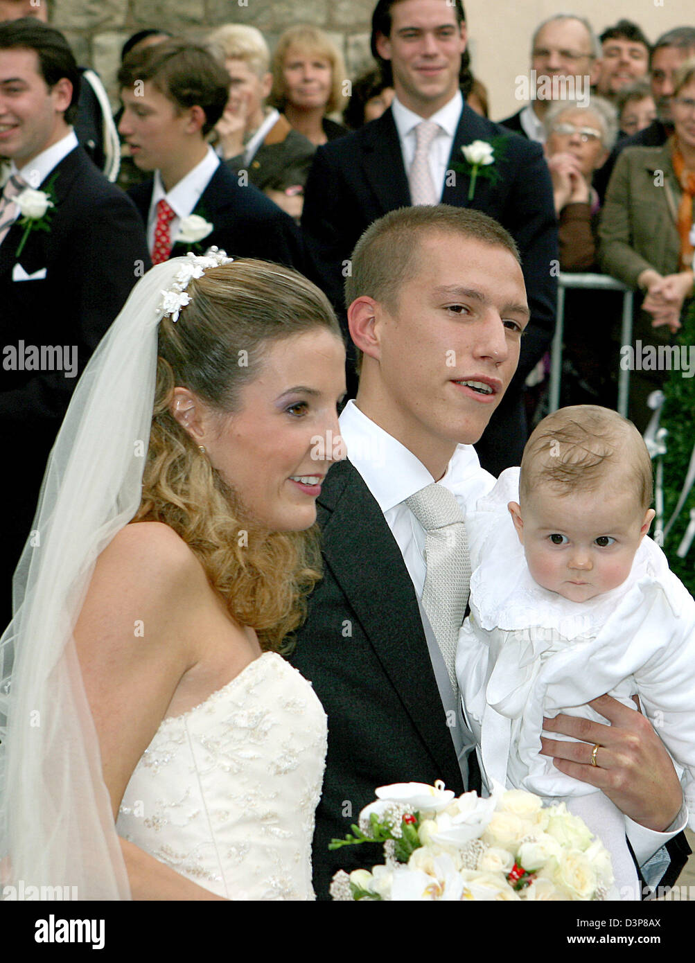 Bride Tessy Antony L Groom Prince Louis Of Luxembourg And Their