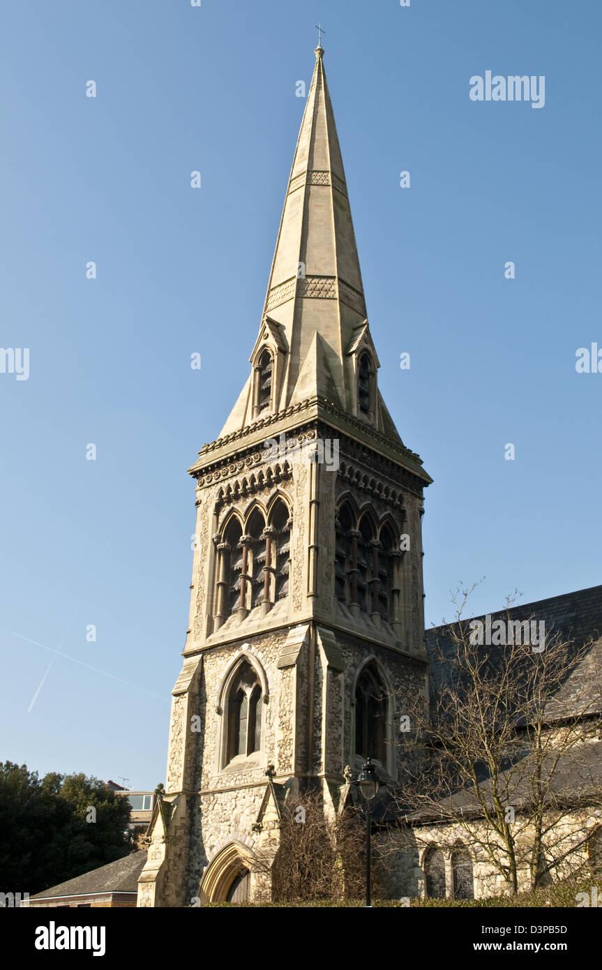 Saint Saviour's Church, Chalk Farm, London, UK - Stock Image