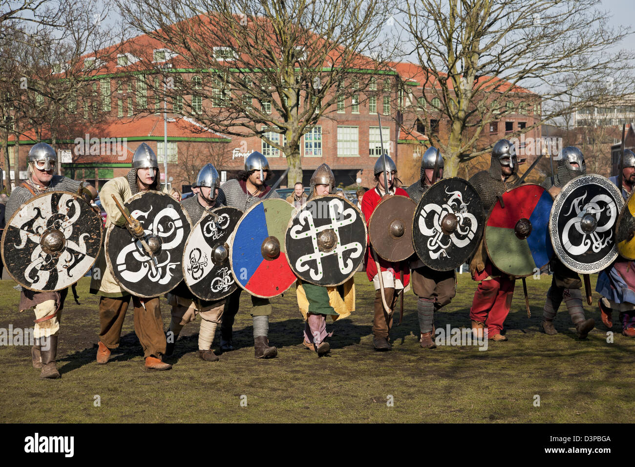 The Viking Festival York North Yorkshire England UK United Kingdom GB Great Britain - Stock Image