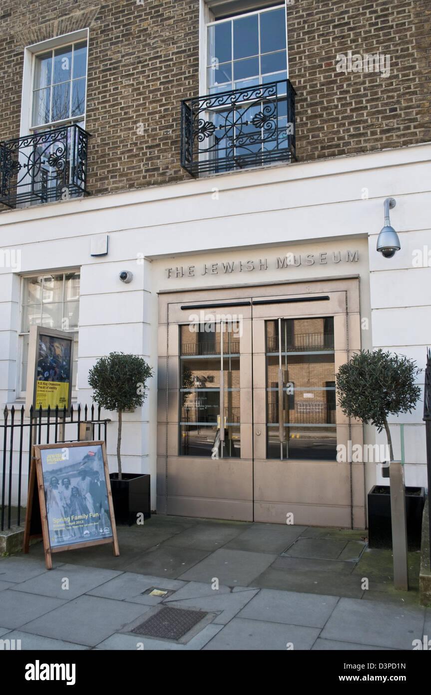 Jewish Museum, Albert Street, Camden, NW 1, London, UK - Stock Image
