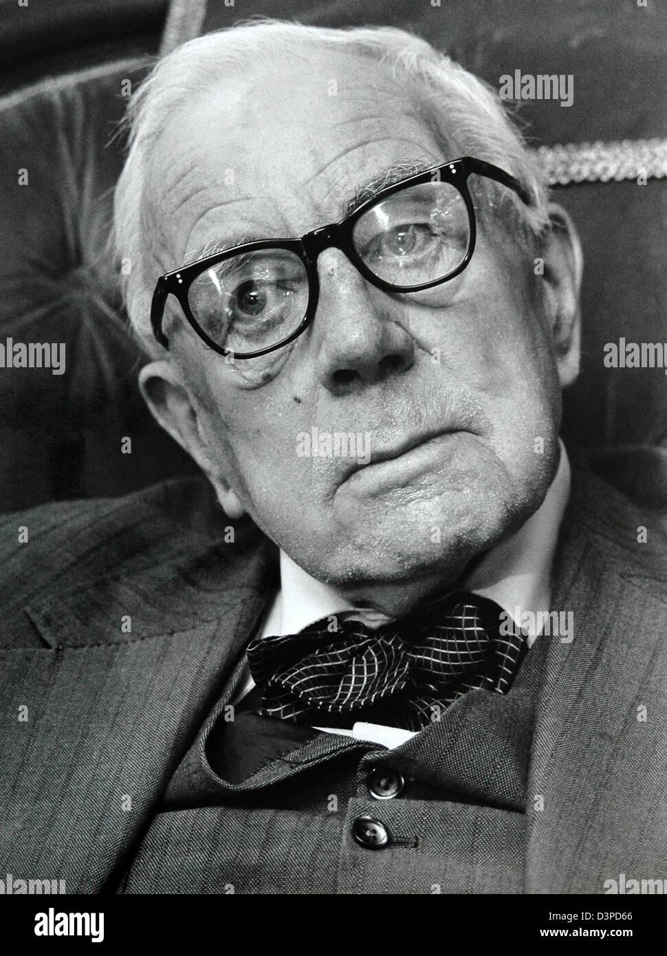 Alan John Percivale Taylor, FBA Stock Photo