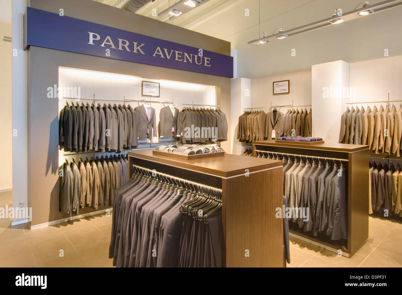 Modern Cloth Shop Interior High Resolution Stock Photography And Images Alamy
