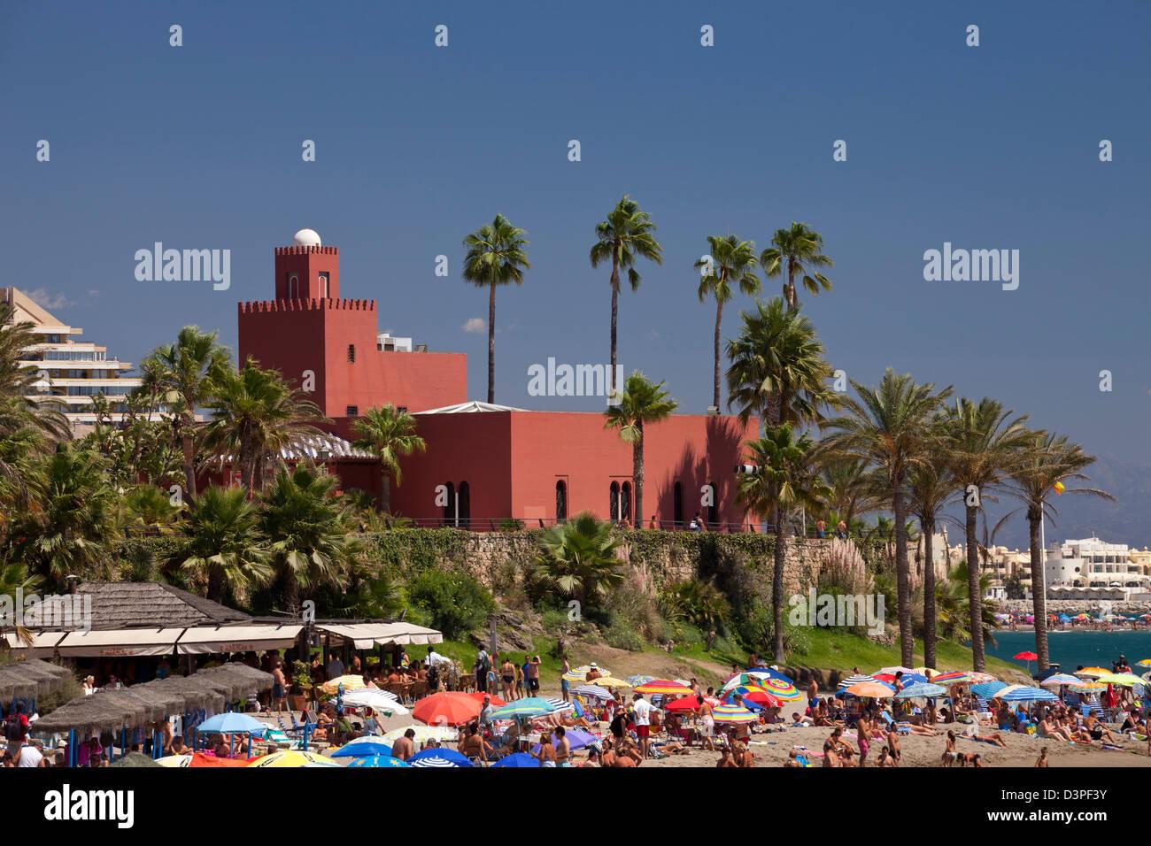 Castillo El Bil-Bil, Benalmadena - Stock Image