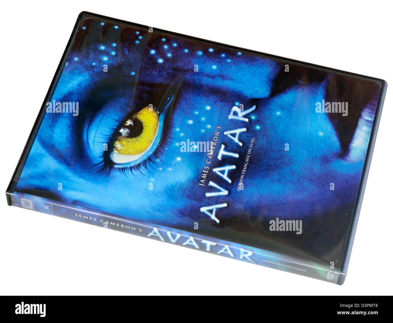 Avatar DVD - Stock Image
