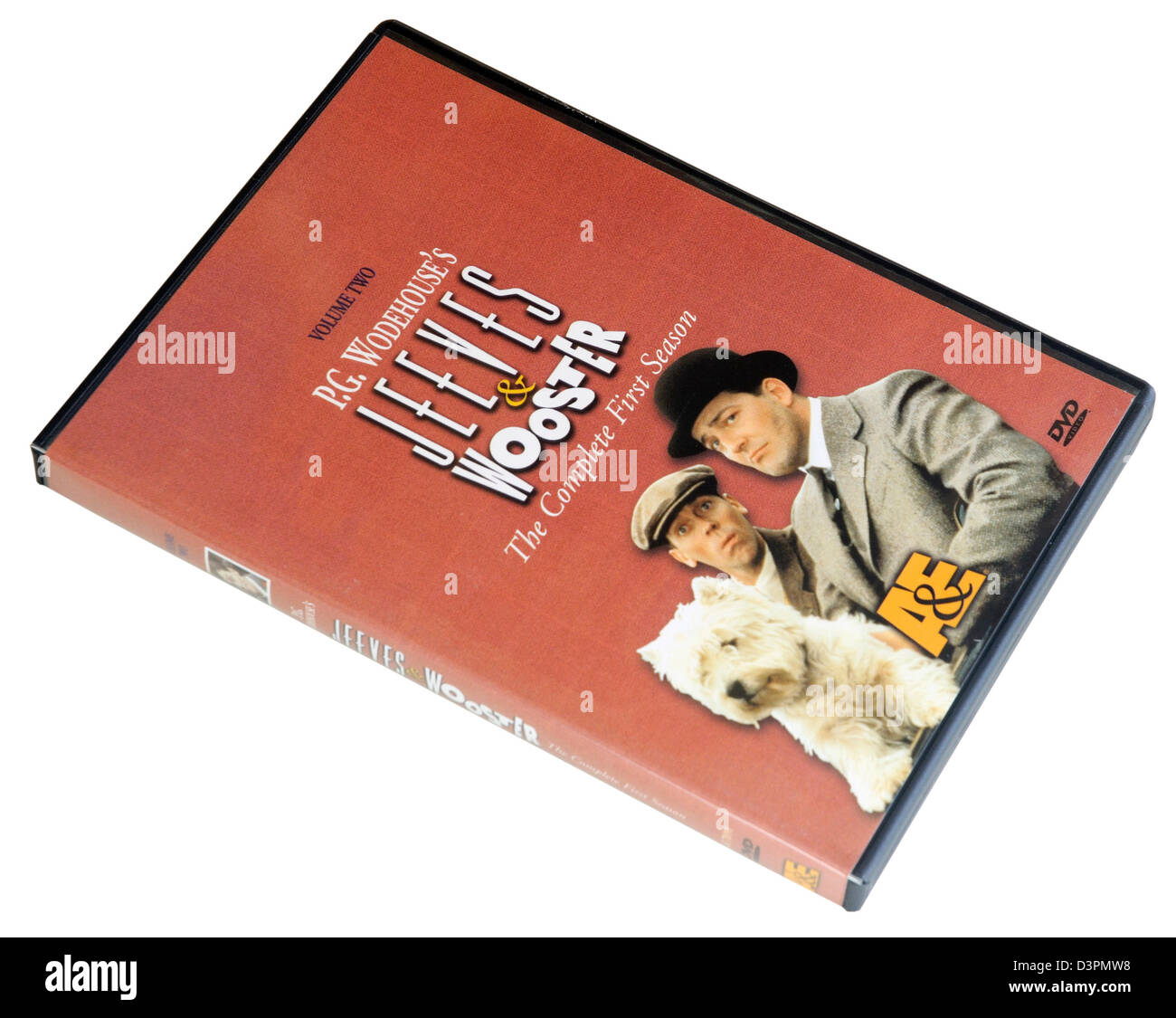 Stephen Fry and Hugh Laurie Jeeves and Wooster DVD - Stock Image